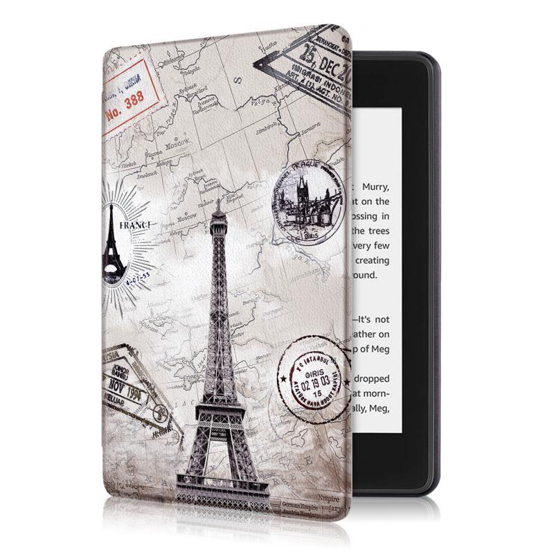 Kindle 10 (2019) 4GB mágneses Smart Védőtok Eiffel Torony