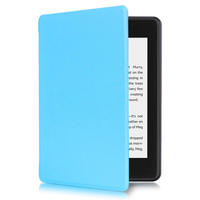 Kindle 10 (2019) 4GB Mágneses Smart Védőtok Türkizkék