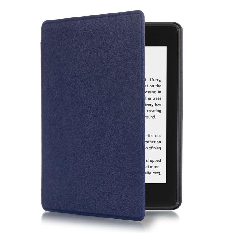 Kindle 10 (2019) Mágneses Smart Védőtok Kék