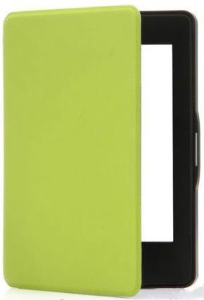 KINDLE 8 4GB Mágneses Smart Védőtok Neonzöld