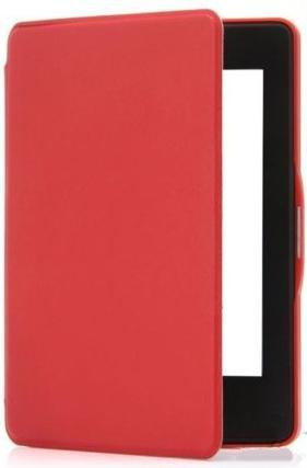 KINDLE 8 4GB Mágneses Smart Védőtok Piros
