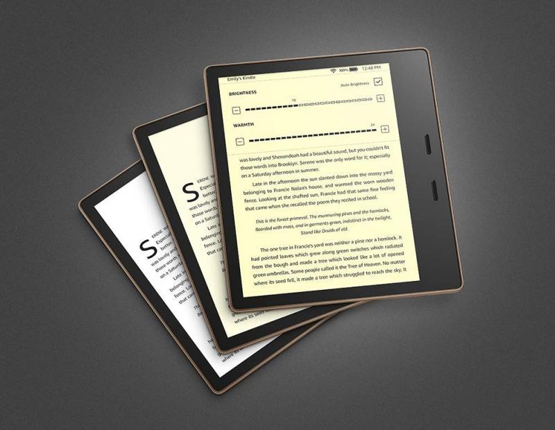 Kindle Oasis 3 generáció 8GB Reklámmentes