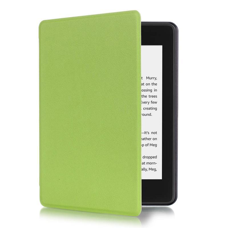 Paperwhite 4 mágneses Smart Védőtok Neonzöld