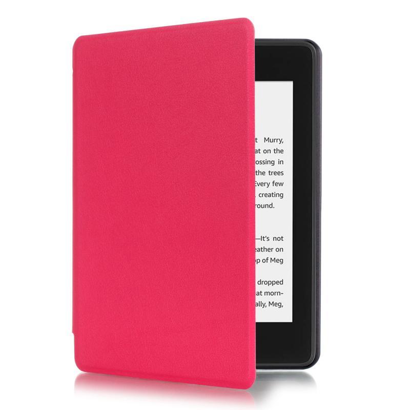 Paperwhite 4 mágneses Smart Védőtok Pink
