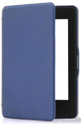 Paperwhite 4 mágneses Smart Védőtok Sötétkék