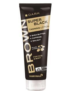 Brown Super Black Tanning Lotion 125ml