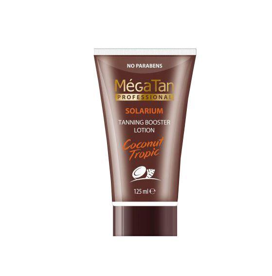 MégaTan Coconut Tanning Booster Lotion 125 ml