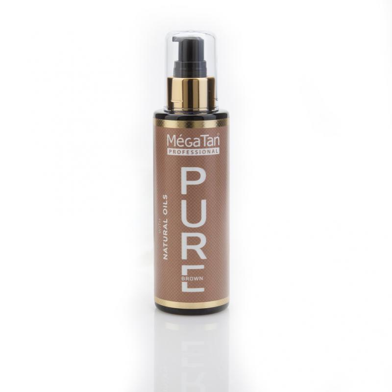 MégaTan Pure Natural Tanning oil - 140ml