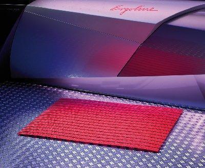 Színes kilépő szőnyeg