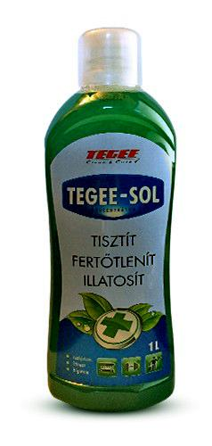 Tegee-Sol 1l szolárium fertőtlenítő