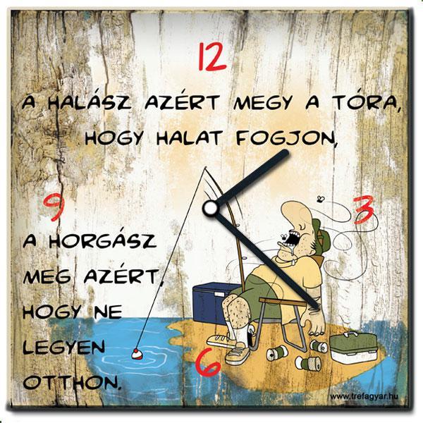 Falióra/A halász azért megy a tóra