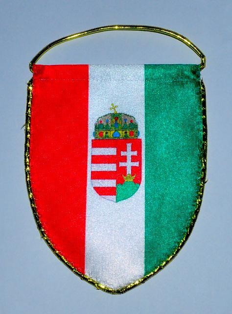 Mini zászló, címeres