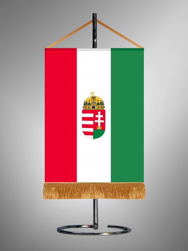 Zászló 1.(Magyar címer)