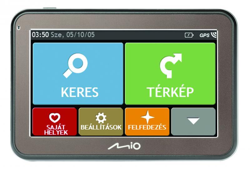 """MIO SPIRIT 5100 NM 4, 3"""" GPS autós navigáció (Térkép nélküli változat)  (MIO SPIRIT 5100 NM)"""