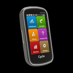 Mio Cyclo 405 kerékpáros navigáció