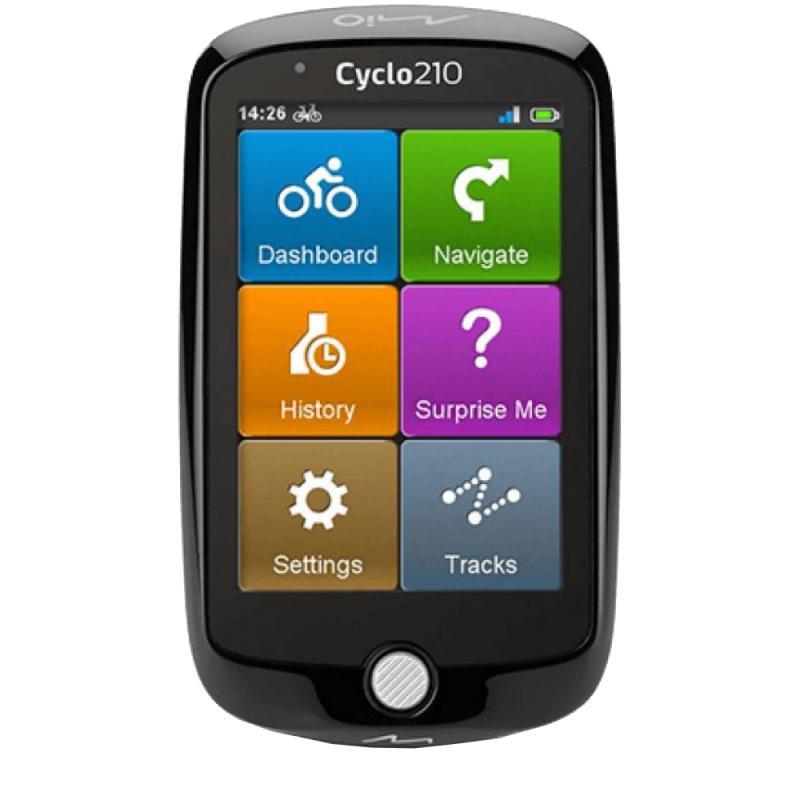 Mio Cyclo 215 kerékpáros navigáció