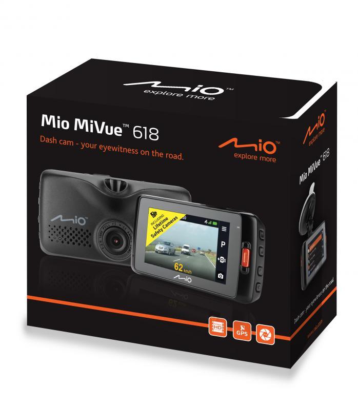 Mio MiVue 618 autós menetrögzítő kamera