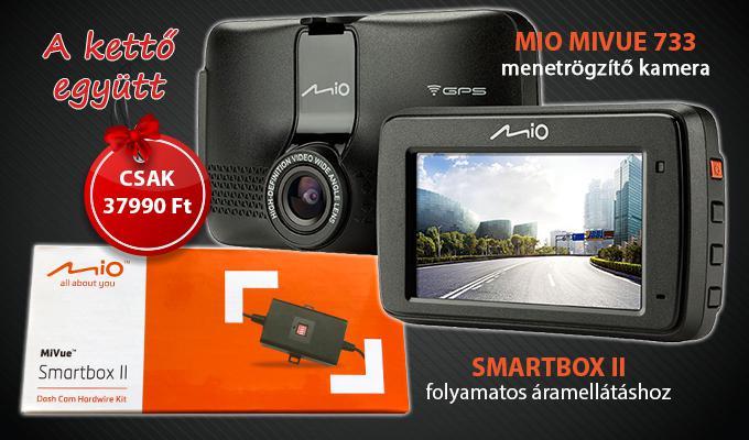 Mio MiVue 733 és SmartBox