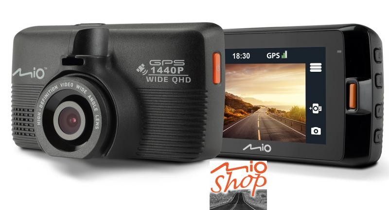 MIO MiVue 751 QUAD HD autós menetrögzítő kamera