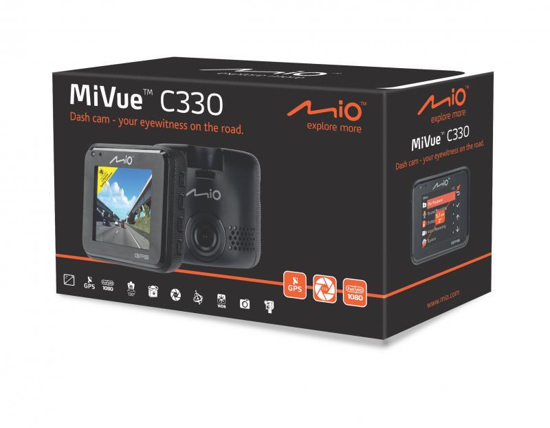 Mio Mivue C330 HD+GPS AUTÓS MENETRÖGZITŐ KAMERA