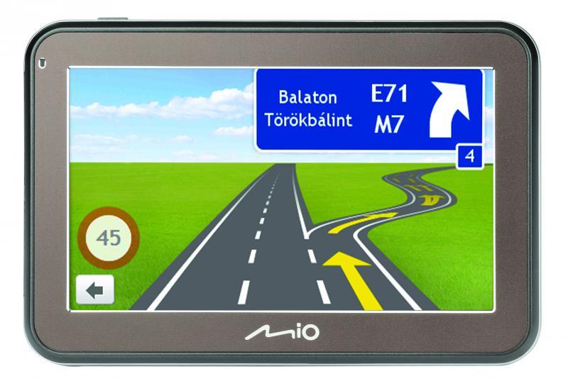 """Mio Spirit 5400 LM TELJES EUROPA TÉRKÉPPEL 4,3""""  Élettartam térképfrissítéssel GPS navigáció"""