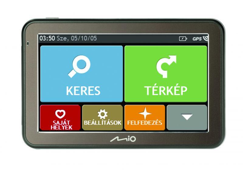 """MIO SPIRIT 7500 NM 5"""" GPS autós navigáció  (Térkép nélküli változat)  (MIO SPIRIT 7500 NM)"""
