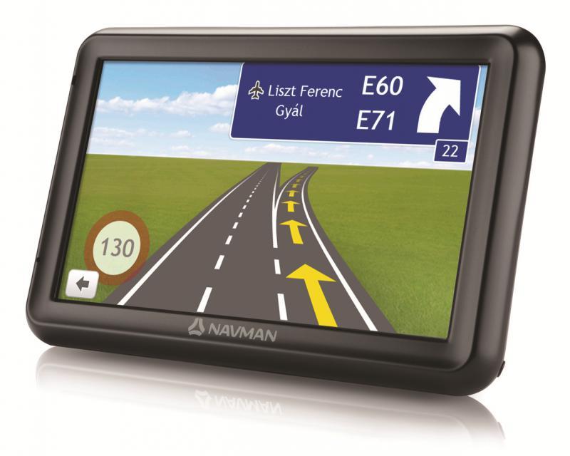 """Navman 5000 LM TELJES EUROPA TÉRKÉPPEL 5,0"""" Élettartam térképfrissítéssel GPS navigáció"""