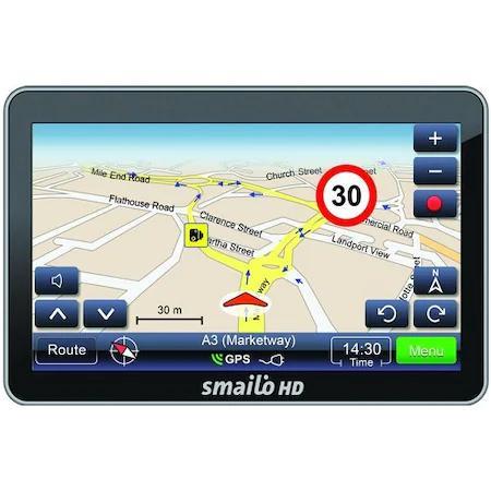 SMAILO HD 5.0 navigáció (Navigáció program és Térkép nélkül)