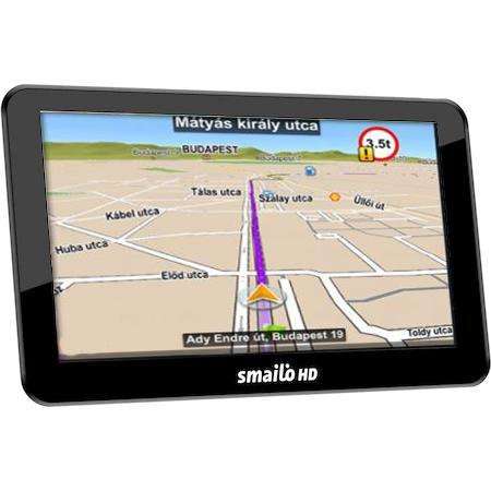 SMAILO HD 7.0 navigáció (Navigációs program és Térkép nélkül)