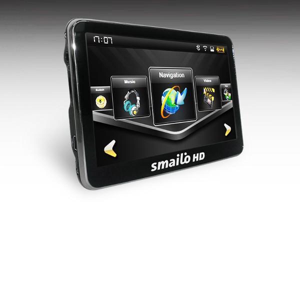"""SMAILO HD50 5"""" GPS TELJES EURÓPA OPEN STREET MAP NAVIGÁCIÓ"""