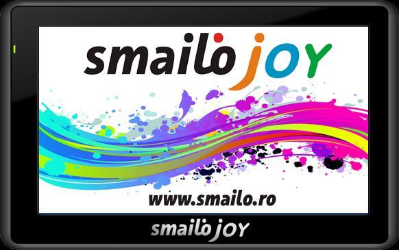 """Smailo Joy 4,3"""" 8 GB Térkép nélküli navigáció"""