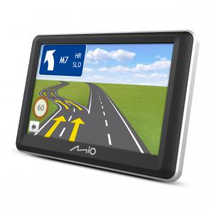 """Mio Spirit 7700 LM FEU 5,0"""" Élettartam térkép frissítéssel GPS navigáció Tom Tom térképpel"""