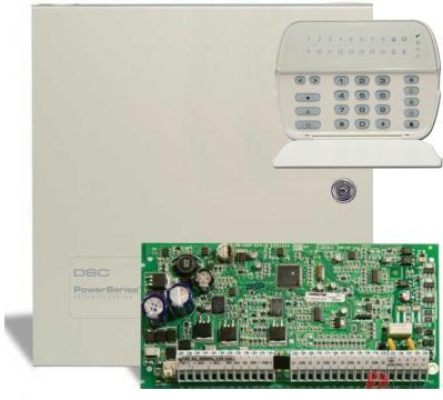 DSC PC1616 + PK5516 + doboz