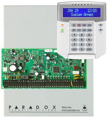 PARADOX EVOHD + 641BL+