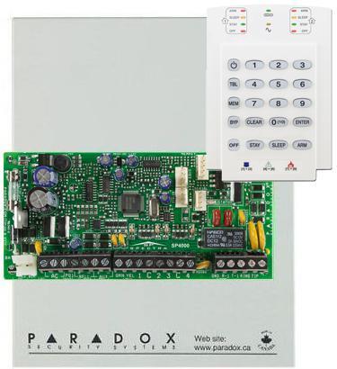 PARADOX SP4000 + K10V