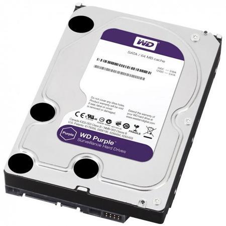 Western Digital 1000GB S-ATA III PURPLE winchester