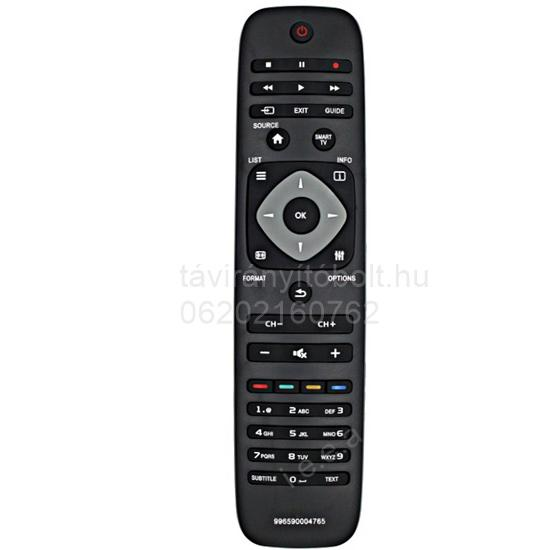 996590004765, 996590007728 PHILIPS SMART TV. TÁVIRÁNYÍTÓ