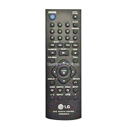 AKB33659510 LG EREDETI DVD TÁVIRÁNYÍTÓ