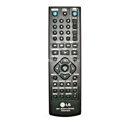 AKB35840202, AKB-35840202 HELYETTESÍTŐ LG DVD TÁVIRÁNYÍTÓ