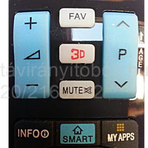 AKB74455403, AKB73756502, AKB74455401, AKB73756565 LCD/TFT 3D, UTÁNGYÁRTOTT LG TÁVIRÁNYÍTÓ