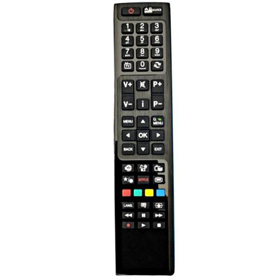 RC4848, RC-4848, VESTEL, ORION, FINLUX, NETFLIX, SMART, HITACHI, CELCUS, SHARP TÁVIRÁNYÍTÓ