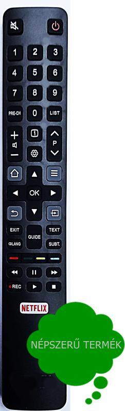 RC802N, UC6596, UC6406, Ultra HD (4k TV) THOMSON TCL TÁVIRÁNYÍTÓ UTÁNGYÁRTOTT