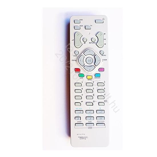 RCT311TT1G, RCT-311TT1G RCT311TM1G TV, DVD, VIDEO THOMSON TÁVIRÁNYÍTÓ