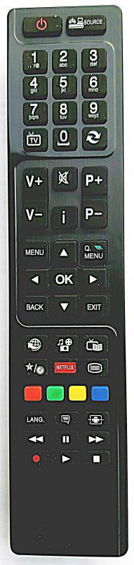 SHARP LCD/LED TV TÁVIRÁNYÍTÓ