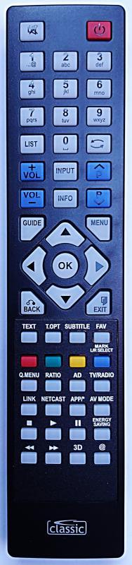 SMART-TECH LE-4019N DVB-TC TÁVIRÁNYÍTÓ