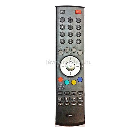 TOSHIBA TV/LCD+VCR, DVD CT-865, CT-870, CT-873, CT-884, CT90298 TÁVIRÁNYÍTÓ UTÁNGYÁRTOTT