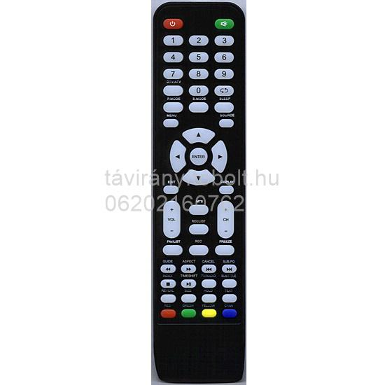 VORTEX LED-V24E1D, LED V24E1D, LED- 321ED, LED-V32ED2D, VORTEX LCD/LED TÁVIRÁNYÍTÓ