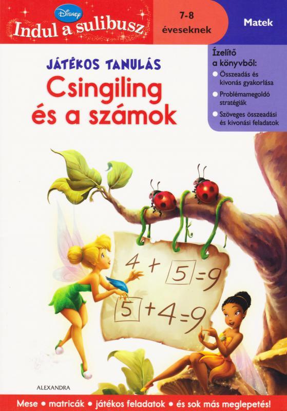 Játékos tanulás - Csingiling és a számok - 7-8 éveseknek