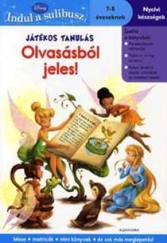 Játékos tanulás - Olvasásból jeles! 7-8 éveseknek - 7-8 éveseknek