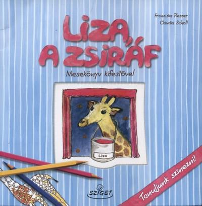 Liza a zsiráf (kifestővel)